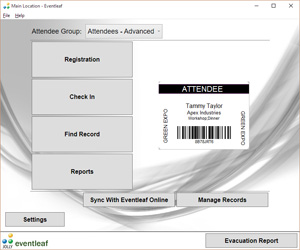 event ticket printing software