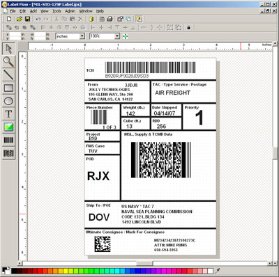 Label Flow - Barcode Software - Barcode software for printing barcode labels.