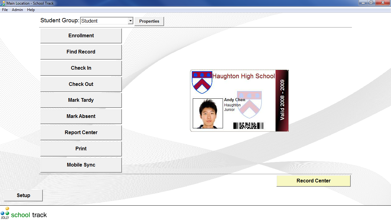 School Track Student Attendance Software